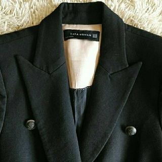 ZARA - ZARA WOMAN 黒 長袖ジャケット