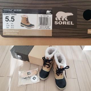 ソレル(SOREL)のSOREL スノーブーツ 5.5 一度のみ使用(ブーツ)