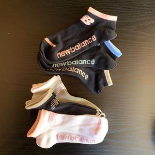 ニューバランス(New Balance)のニューバランス 靴下 6足【購入時コメント不要です】(ソックス)