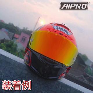 CWR-F ピンロックミラーシールド ダークスモーク/レッド(ヘルメット/シールド)