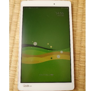 エルジーエレクトロニクス(LG Electronics)のQua tab PX ホワイト Android(タブレット)