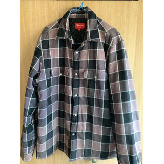 Supreme - Supreme Quilted Faded Plaid Shirt