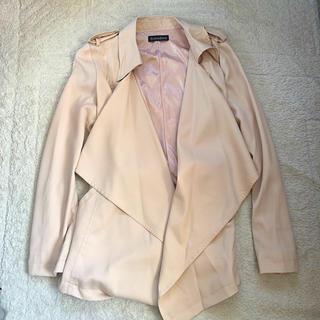 シマムラ(しまむら)のピンクジャケット(スプリングコート)