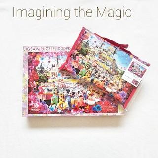 ディズニー(Disney)の【新品・未使用】TDL 35周年 イマジニングザマジック パズル&レジャーシート(キャラクターグッズ)