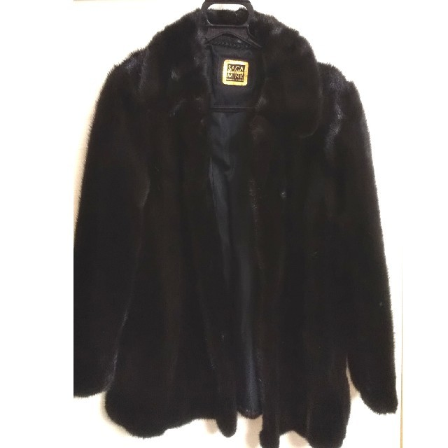SAGAMINK GOLD 毛皮コート レディースのジャケット/アウター(毛皮/ファーコート)の商品写真
