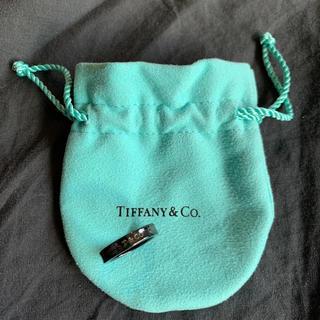 ティファニー(Tiffany & Co.)のティファニー  ブラックリング9号(リング(指輪))