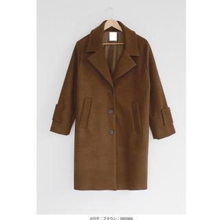 ディーホリック(dholic)のベーシックチェスターコート 未使用美品 韓国 ロングコート(チェスターコート)