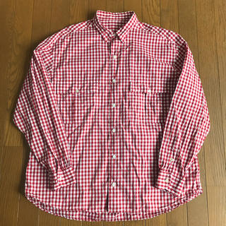 ポーター(PORTER)のporter classic roll up  shirts RED(シャツ)
