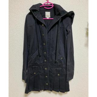 DIESEL - ディーゼル ミリタリー風 ブラック コート ジャケット
