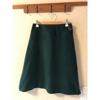 ニューヨーカー(NEWYORKER)のSallyScott サリースコットウール100% 定番台形スカート☺︎❥❥(ひざ丈スカート)