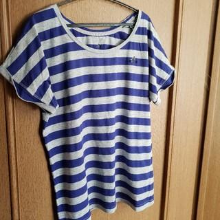 アディダス(adidas)のアディダス ボーダー 半袖 Tシャツ(Tシャツ(半袖/袖なし))