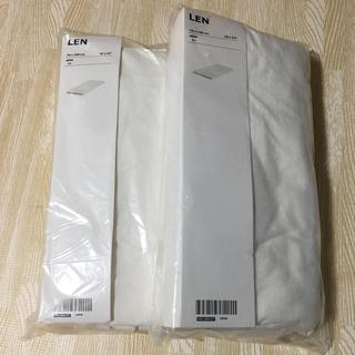 IKEA - 【2個セット】IKEA ボックスシーツ LEN キッズ用