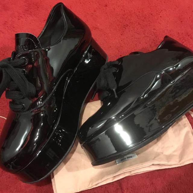 miumiu(ミュウミュウ)のmiumiu ミュウミュウ  レディースの靴/シューズ(スニーカー)の商品写真