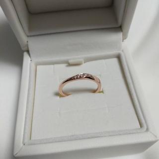 ヨンドシー(4℃)の指輪 4°C リング 美品 9号(リング(指輪))