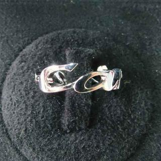 カルティエ(Cartier)の【Cartier】カルティエ筆記体モチーフリング☆ダイヤ入りWG製ピカピカリング(リング(指輪))