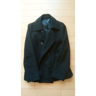 ジーユー(GU)のPコート 黒(ピーコート)