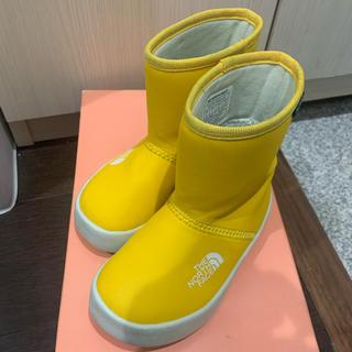 ザノースフェイス(THE NORTH FACE)のノースフェイス キッズ用レインブーツ 15.0(長靴/レインシューズ)