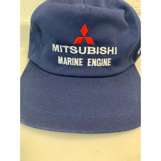 ミツビシ(三菱)のMITSUBISHI 三菱 帽子 キャップ ネイビー セール 送料無料 激安(キャップ)