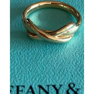 ティファニー(Tiffany & Co.)のTIFFANYリングK18イエローゴールド(リング(指輪))