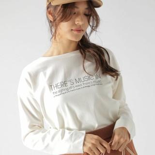ベイフロー(BAYFLOW)の今期完売!BAYFLOWのBRINGアソートロゴTEE 白 ベイフロー(Tシャツ(長袖/七分))