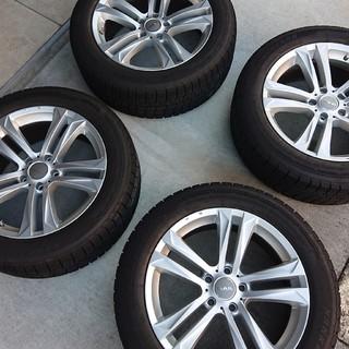 ビーエムダブリュー(BMW)の【送料込】スタッドレス タイヤ ホイール 4本セット BMW MAK (タイヤ・ホイールセット)