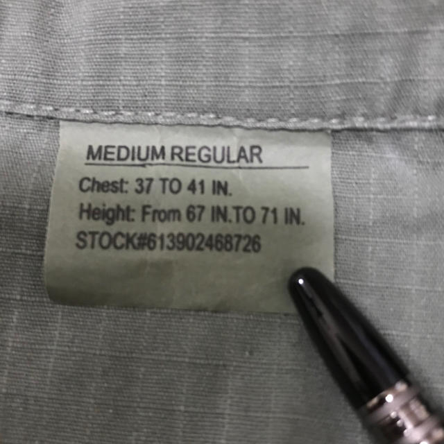 ROTHCO(ロスコ)のジャングルファティーグジャケット  ロスコ社 メンズのジャケット/アウター(ミリタリージャケット)の商品写真