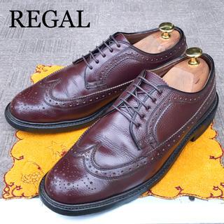 リーガル(REGAL)の雨雪に【REGAL】リーガル 24.5cm ビジネスシューズ 革靴 メンズ(ドレス/ビジネス)