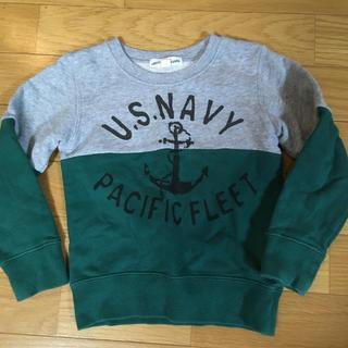グリーンレーベルリラクシング(green label relaxing)のgreen label キッズスウェット サイズ105(Tシャツ/カットソー)