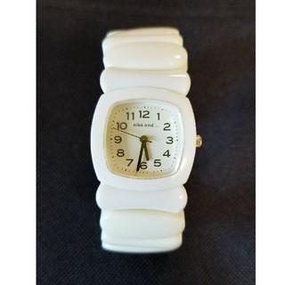 ニコアンド(niko and...)のニコアンド 腕時計 ホワイト(腕時計)