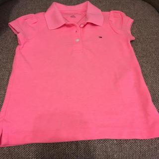 トミーヒルフィガー(TOMMY HILFIGER)の新品 パフスリーブポロシャツ(Tシャツ)