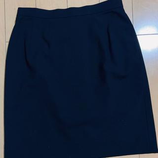 カルバンクライン(Calvin Klein)のCalvin Klein スカート 黒(ひざ丈スカート)