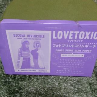 ラブトキシック(lovetoxic)のニコラ付録【フォトプリントスリムポーチ】(ポーチ)