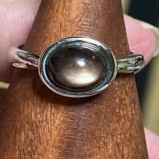 pt900 黒蝶貝?リング(リング(指輪))