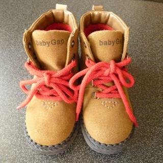 [No.76]babyGAP*14cmショートブーツ