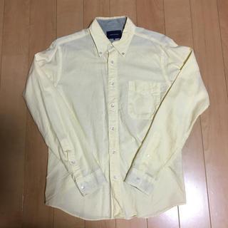 メンズビギ(MEN'S BIGI)のメンズビキ ユニオンステーション長袖シャツ サイズ03 レモンイエロー(シャツ)