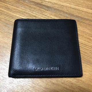 カルバンクライン(Calvin Klein)のカルバンクライン 二つ折り財布 シンプル(折り財布)