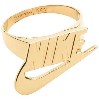 シュプリーム(Supreme)のSupreme Nike 14k Gold Ring 4.5 即購入可(リング(指輪))