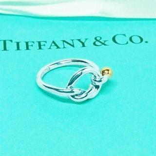 ティファニー(Tiffany & Co.)の☆新品☆未使用☆Tiffany&Co. ティファニー ラブノットリング9号(リング(指輪))