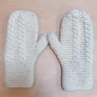 ユナイテッドアローズ(UNITED ARROWS)の手袋 天然毛 手編み(手袋)