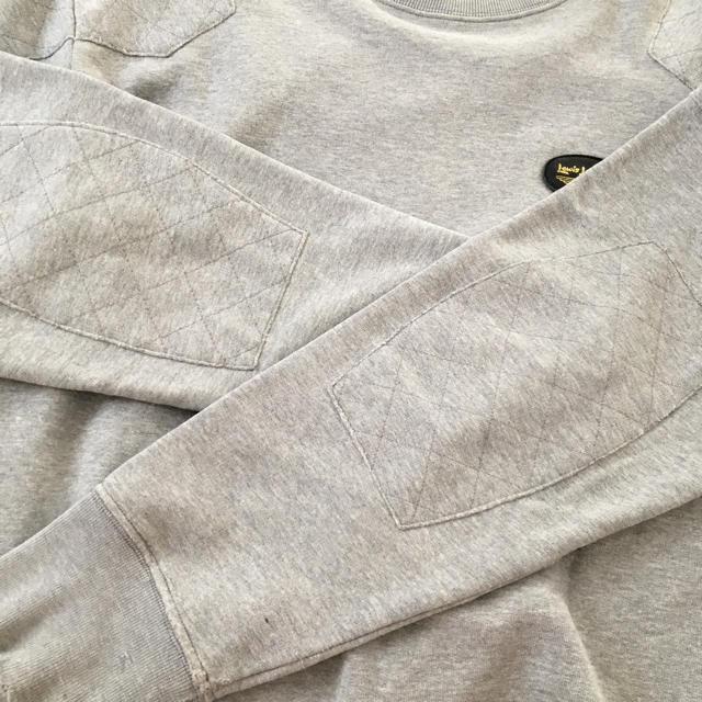 Lewis Leathers(ルイスレザー)のルイスレザー スウェットシャツ イングランド製 メンズのトップス(スウェット)の商品写真