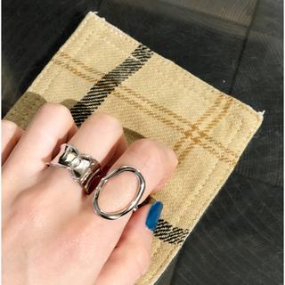 トゥデイフル(TODAYFUL)のシルバー925 オーバルリング sv925(リング(指輪))