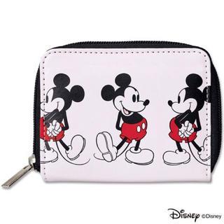 シップス(SHIPS)のmini付録 シップス ミッキーマウス 二つ折り財布  (財布)