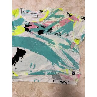 プーマ(PUMA)のプーマ PUMA レディース Tシャツ ヨガ Lサイズ 美品(Tシャツ(半袖/袖なし))