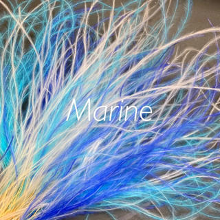 ふわふわ フェザーグラス ブルー系  3g ハーバリウム花材(ドライフラワー)