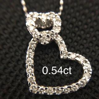 Folli Follie - K18 wg ダイアモンド(ダイヤモンド)ネックレス 0.54karat