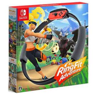 ニンテンドースイッチ(Nintendo Switch)の新品 Nintendo Switch リングフィットアドベンチャー(家庭用ゲームソフト)