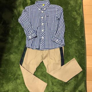 サニーランドスケープ(SunnyLandscape)のチェックシャツ&パンツまとめ売り(パンツ/スパッツ)
