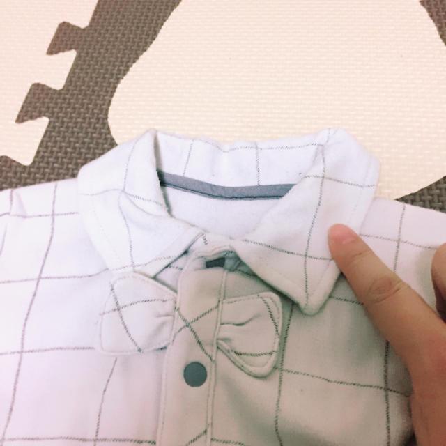 ベルメゾン(ベルメゾン)のベルメゾン ロンパース 70 キッズ/ベビー/マタニティのベビー服(~85cm)(ロンパース)の商品写真