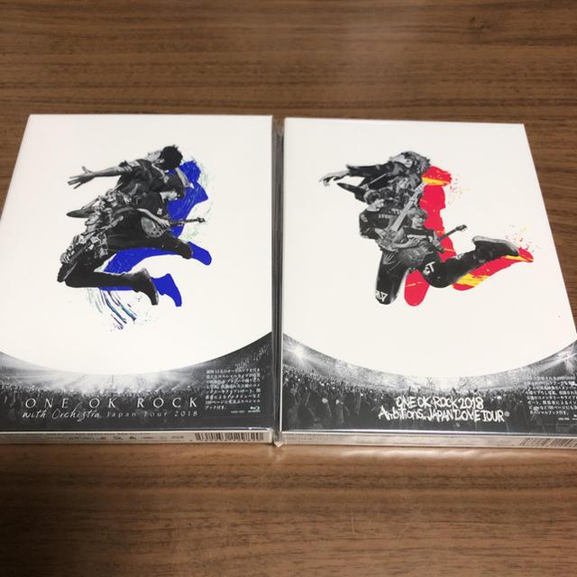ONE OK ROCK(ワンオクロック)のDAHLIAさん専用   ONE OK ROCK Blu-ray  エンタメ/ホビーのDVD/ブルーレイ(ミュージック)の商品写真