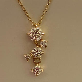 JEWELRY TSUTSUMI - ジュエリーツツミ K18 ダイヤモンドネックレス